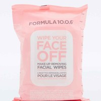 Formula 10.0.6 Wipe Your Face Off Make-up Wipes - Urban Outfitters