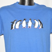 80s Penguin Group t-shirt Medium