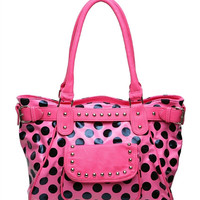 Pink N Polka Dots Purse