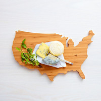 AHeirloom's USA Shaped Cutting Board