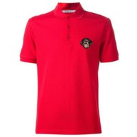 Givenchy Rottweiler Red Polo Shirt