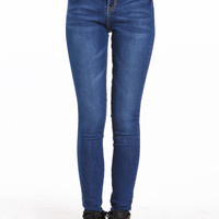 TRUE BLUE HIGH WAISTED JEANS