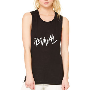 """Selena Gomez """"Revival"""" Thick Muscle Tee"""
