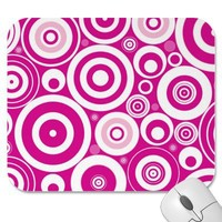 Retro Explosion Mouse Pads from Zazzle.com