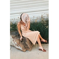 Tulley Champagne Dress (RESTOCKED)