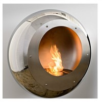 Cocoon Fireplaces Vellum Stainless Steel Fireplace - Style # cfvssvellum, Modern Fireplace - Contemporary Fireplace - Fireplace Accessories - Stainless Steel Fireplace | SwitchModern.com