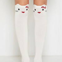 You've Gotta be Kitten Knee Socks