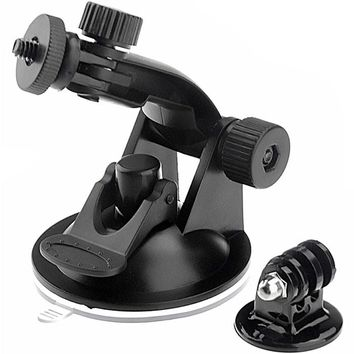 Felji Suction Cup Mount and Tripod Adapter For GoPro HD Hero 1 2 3