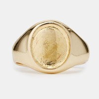 ASOS Gold Plated Pinky Ring