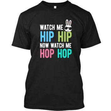 Hip Hop Bunny Shirt Easter Tshirt Boys Girls Kids Cool Bunny Custom Ultra Cotton