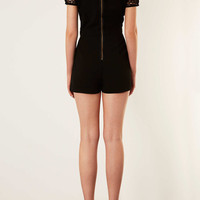 Cutwork T Shirt Playsuit - New In This Week - New In - Topshop USA