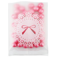 White Frosted Doily Cello Bag