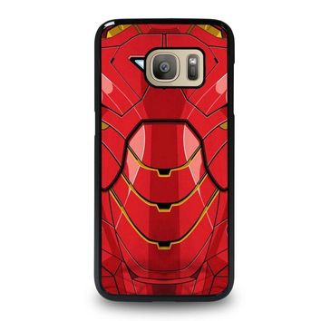 iron man costume samsung galaxy s7 case cover  number 1