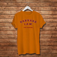 Harvard Law Just Kidding Women T-Shirt (Available Various Color)
