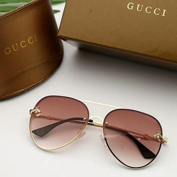 """GUCCI"" Popular Woman Delicate Bee Candy Color Summer Sun Shades Eyeglasses Glasses Sunglasses"