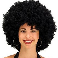 AFRO WIG 22 INCH BLACK