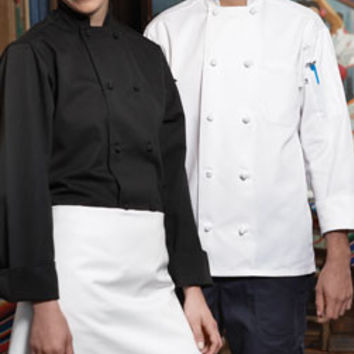 Classic Knot Chef Coat by Uncommon Threads™