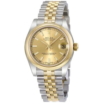Rolex Datejust Lady 31 Rolex Jubilee Automatic  Watch 178243CSJ