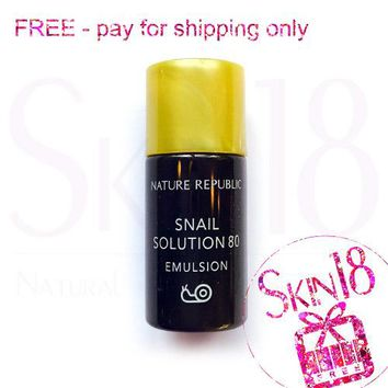 Freebies - Nature Republic Snail Solution 80 Emulsion (Sample Pack)