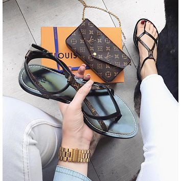 Louis Vuitton Lv Woman Fashion Casual Sandals-1