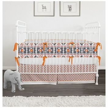 Cotton Trim - Aztec Baby Bedding Custom | Baby Bedding Set