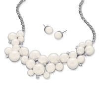 Bubbles of Beauty Fashion Necklace and Earring Set