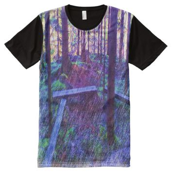 Forest Resting place All-Over-Print T-Shirt