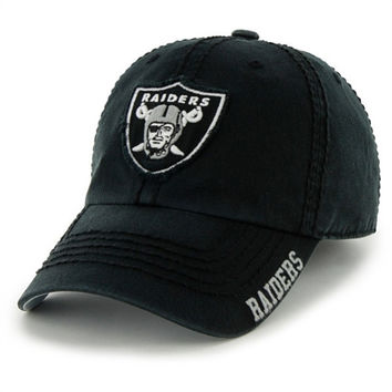 47 Brand Oakland Raiders Winthrop Slouch Fitted Hat