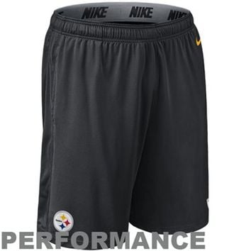 Nike Pittsburgh Steelers Fly Performance Shorts - Black