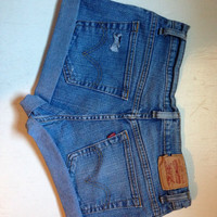Vintage Levi Denim Shorts