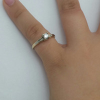 Gold 14 Karat Diamond Ring from SterlinGold Treasures