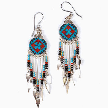 Machu Picchu Earrings
