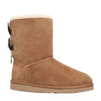 UGG Bailey Bow Shoe Beige | Harrods