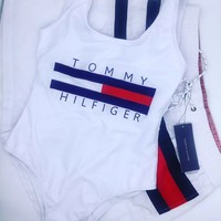 Tommy Hilfiger Summer Swimmer Bikini Set Swimsuits Bathing Suits
