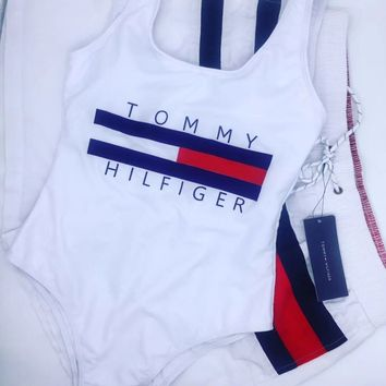 8cd8ebbbca Tommy Hilfiger Summer Swimmer Bikini Set Swimsuits Bathing Suits