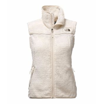 Women's Campshire Sherpa Vest in Vintage White by The North Face