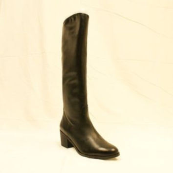 Sam Edelman Lauren Black Leather Knee-High Women's Boots 9.5 M