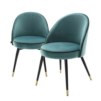 Turquoise Dining Chair Set | Eichholtz Cooper