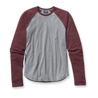 Patagonia Men's Long-Sleeved Daily Raglan Tee