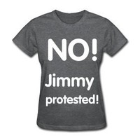 No! jimmy protested t-shirt | One Direction clothes