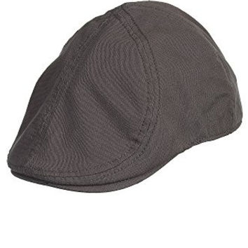 Goorin Bros Men's Ari Newsboy Hat Cap (XL) (Grey)