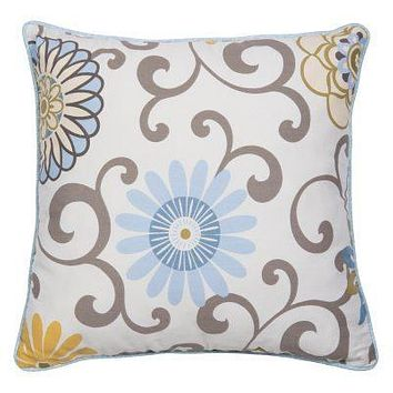Waverly Pom Pom Spa Decorative Pillow