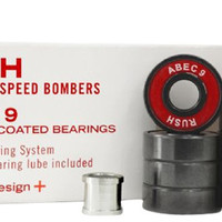 Rush Downhill Speed Bombers Abec 9 Bearings