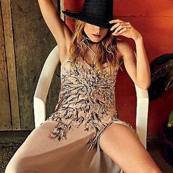Haute Hippie Womens I'll Be Your Firecracker Gown