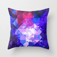 Abstract Throw Pillow by GraphiconArt | Society6