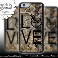 Camo Browning Buck Love iPhone 5C 6 Plus Case Black Doe Heart Deer iPhone 5s 4 case Ipod Cover real tree camo Country Inspired Girl