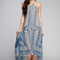 Moroccan Inspired Scarf Dress