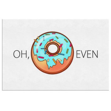 Oh Donut Even Canvas Print