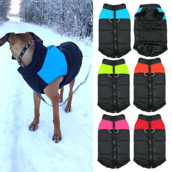 Quilted Padded Puffer Dog Puppy Vest Jacket