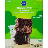 Pillsbury Brownie Mix Thin Mints, 14.1 OZ - Walmart.com